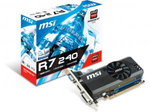 MSI Radeon R7 240 2GD3 LP videokártya