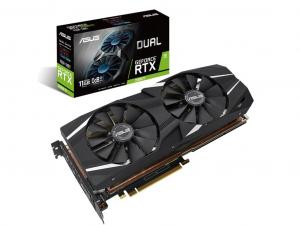 ASUS DUAL-RTX2080TI-11G nVidia 11GB GDDR6 352bit PCIe videokártya