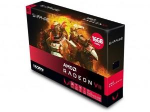 SAPPHIRE RADEON VII HDMI / TRIPLE DP AMD 16GB HBM2 4096bit PCIe videokártya