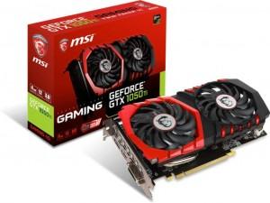 MSI GeForce GTX 1050 Ti Gaming 4G 4GB GDDR5 videokártya