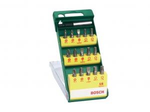 Bosch 16 részes csavarozófej-készlet