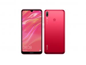 Huawei Y7 (2019) 32GB 3GB DualSim Korall piros Okostelefon