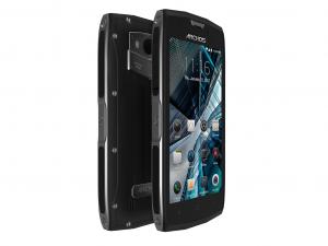 Archos Sense 50X strapabíró okostelefon, 5, QuadCore, 3GB, 32GB, 4G, fekete
