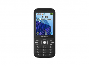 Archos Access 28F telefon, 2.8, BlueTooth, dualSIM, fekete