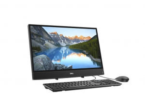 DELL INSPIRON AIO 3480 - 23.8 Col - Full HD - Érintőkijelző LINUX Fekete - all-in-one PC