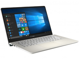 Asus VivoBook S430FA-EB280 14 FHD, Intel® Core™ i3 Processzor-8145U, 4GB, 128GB SSD, Intel® UHD Graphics 620, linux, arany notebook