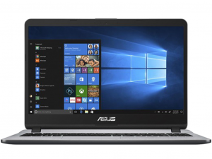 Asus VivoBook X507MA-BR014T 15.6 HD, Intel® Pentium N5000, 4GB, 1TB HDD, Intel® UHD Graphics 605, Win10, Szürke Laptop