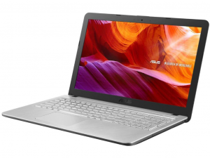Asus VivoBook X543UA-DM1716 15.6 FHD, Intel® Core™ i3 Processzor-7020U, 8GB, 256GB SSD, Intel® HD Graphics 620, linux, ezüst notebook