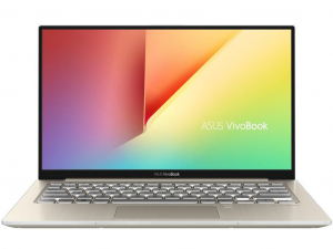 Asus VivoBook S330FA-EY020 13.3 FHD, Intel® Core™ i3 Processzor-8145U, 4GB, 128GB SSD, Intel® UHD Graphics 620, linux, arany notebook
