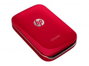 HP Sprocket zseb fotónyomtató, piros