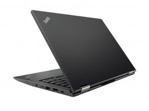 Lenovo Thinkpad X380 Yoga 13.3 FHD IPS Touch, Intel® Core™ i7 Processzor-8550U, 8GB, 512GB SSD, WWAN, Win10P, fekete notebook