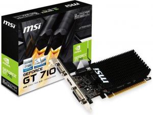 MSI GT 710 2GD3H LP nVidia 2GB GDDR3 64bit PCIe videokártya