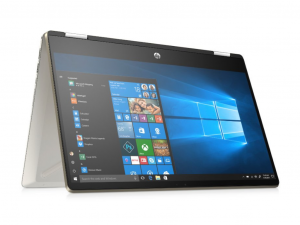 HP PAVILION X360 15-DQ0000NH, 15.6 FHD AG IPS, Core™ I5-8265U, 4GB, 256GB SSD, 1TB, WIN 10, Ezüst notebook