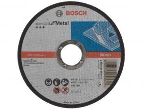 Bosch darabolótárcsa - egyenes, Standard for Metal, 115x1.6x22.23mm