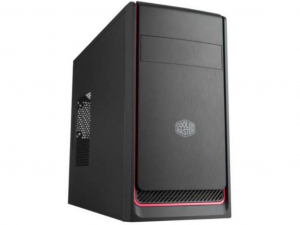 Cooler Master MasterBox E300L Black/Red