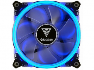 Gamdias AEOLUS E1 1201 Blue ventillátor