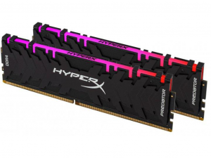Kingston HyperX Predator RGB 16GB 3200MHz DDR4 RAM CL16 (2X8GB) /HX432C16PB3AK2/16/
