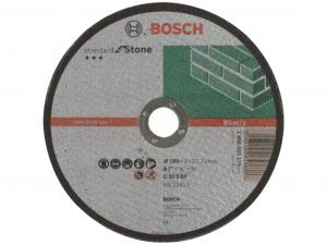 Bosch darabolótárcsa - egyenes, Standard for Stone, 180x3x22.23mm