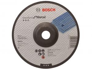 Bosch nagyolótárcsa - hajlított, Standard for Metal, 180x6x22.23mm