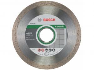 Bosch gyémánt darabolótárcsa - 10db, Standard for Ceramic, 115x1.6x22.23x7mm