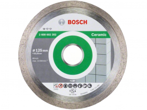 Bosch gyémánt darabolótárcsa - 10db, Standard for Ceramic, 125x1.6x22.23x7mm