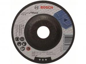 Bosch nagyolótárcsa - hajlított, Standard for Metal, 115x6x22.23mm