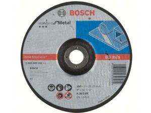 Bosch darabolótárcsa - hajlított, Standard for Metal, 180x3x22.23mm