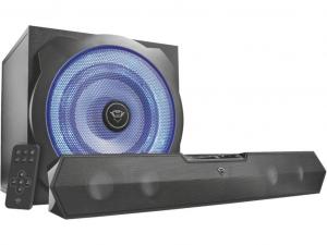 Trust GXT 668 Tytan 2.1 Soundbar Speaker Set jack 120W fa gamer hangszóró