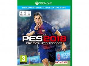 PES 2018 Premium Edition (Xbox One) Játékprogram - Előrendelői poszterrel és PES ajándék órával!