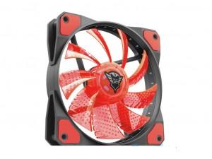 Trust GXT 762R 120x120x25mm 400-1300RPM piros LED-es ház ventilátor