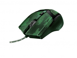 Trust GXT 101D Gav USB gamer jungle camo egér