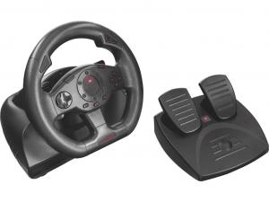 Trust GXT 580 Sano Vibration Feedback Racing Wheel kormány + pedál