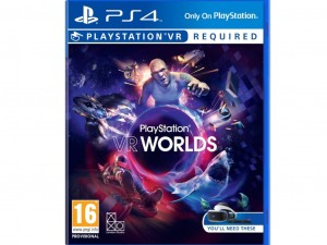 VR Worlds (PS4) Játékprogram