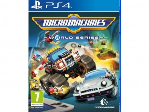 Micro Machines World Series (PS4) Játékprogram