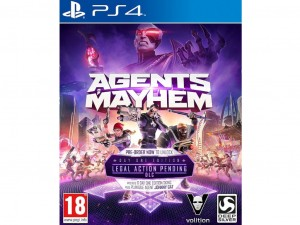 Agents of Mayhem (PS4) Játékprogram