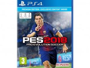PES 2018 Premium Edition (PS4) Játékprogram - Előrendelői poszterrel és PES ajándék órával!