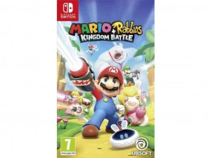 Nintendo Switch - Mario + Rabbids Kingdom Battle Játékszoftver (NSS4342)