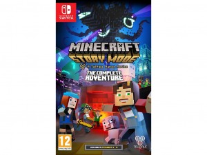Nintendo Switch - Minecraft: Story Mode The Complete Adventure Játékprogram