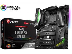 MSI X470 GAMING PRO CARBON alaplap - sAM4, AMD X470, ATX
