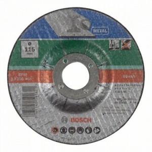 Bosch hajlított darabolótárcsa - fémekhez, 115x2.5x22.23mm