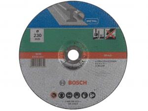 Bosch hajlított darabolótárcsa - fémekhez, 230x3.0x22.23mm