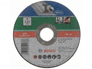Bosch egyenes darabolótárcsa - fémekhez, 115x2.5x22.23mm