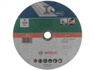 Bosch egyenes darabolótárcsa - fémekhez, 230x3.0x22.23mm