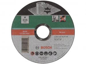 Bosch egyenes darabolótárcsa - Inox, 115x1.0x22.23mm