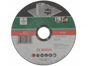 Bosch egyenes darabolótárcsa - Inox, 125x1.0x22.23mm