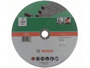 Bosch egyenes darabolótárcsa - kőhöz, 230x3.0x22.23mm