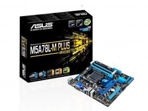 ASUS M5A78L-M PLUS/USB3 alaplap - sAM3+, AMD 760G, mATX