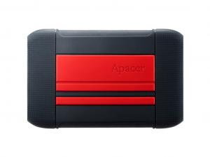 Apacer AC633 1TB Red Külső Winchester - USB 3.1