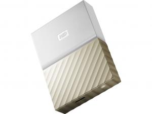 WD My Passport Ultra 2TB 2.5 5400rpm 32MB USB 3.0 Fehér-Arany