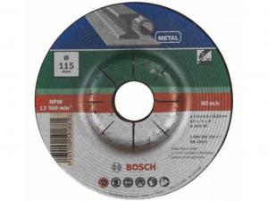 Bosch hajlított nagyolótárcsa - fémhez, 115x6.0x22.23mm